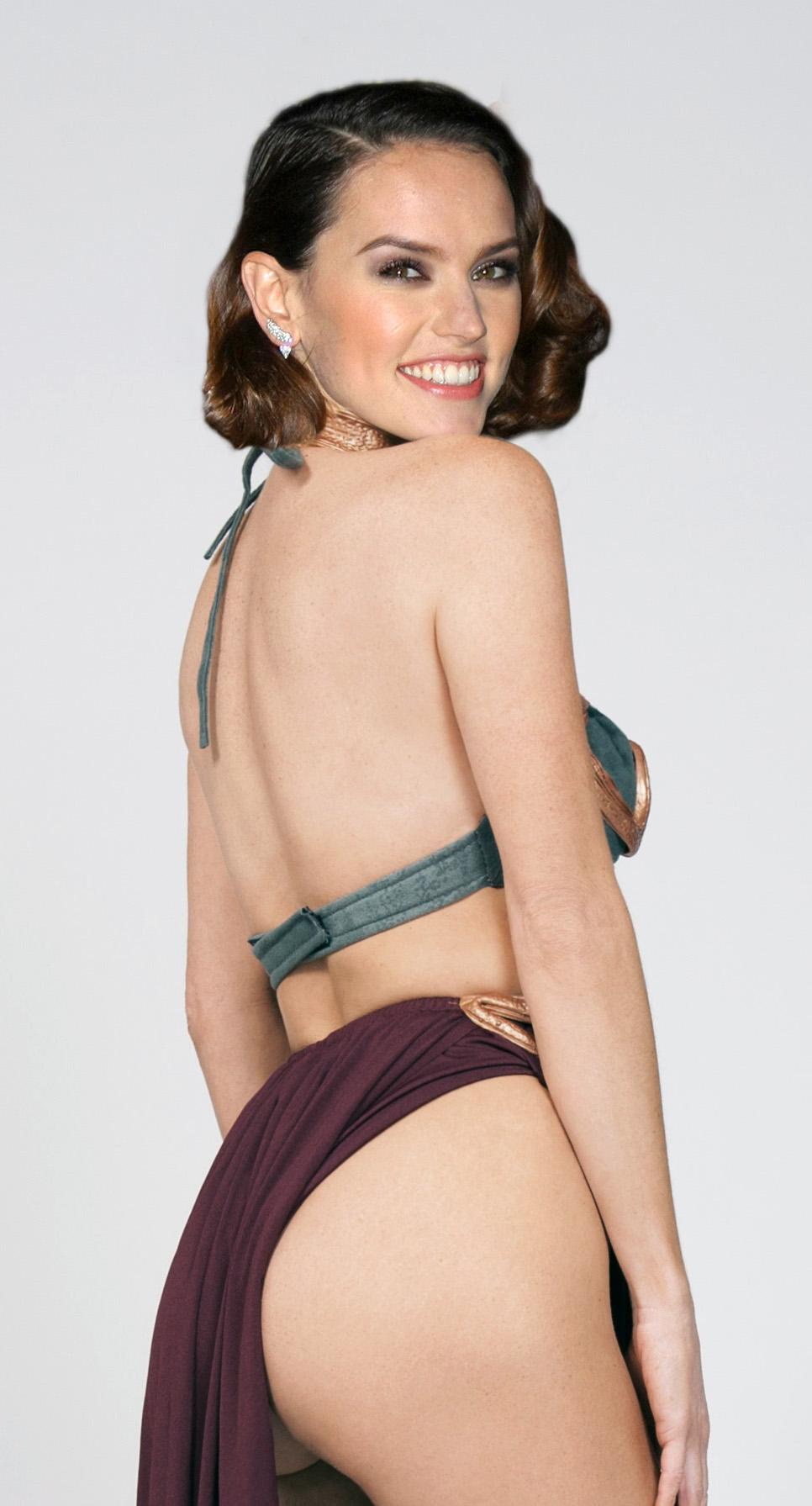 Daisy Ridley Ass