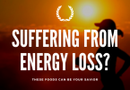 Suffering from energy loss