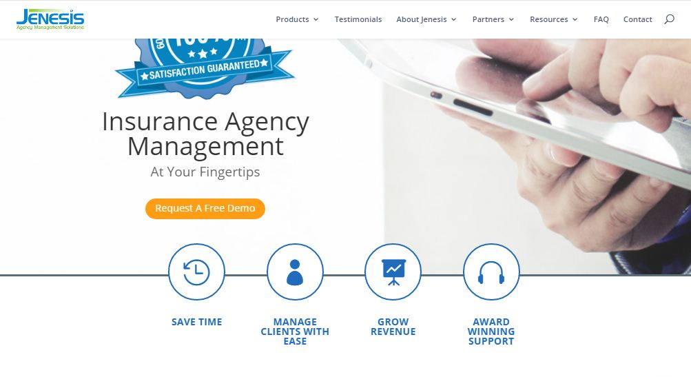 Jenesis Agency Management Software