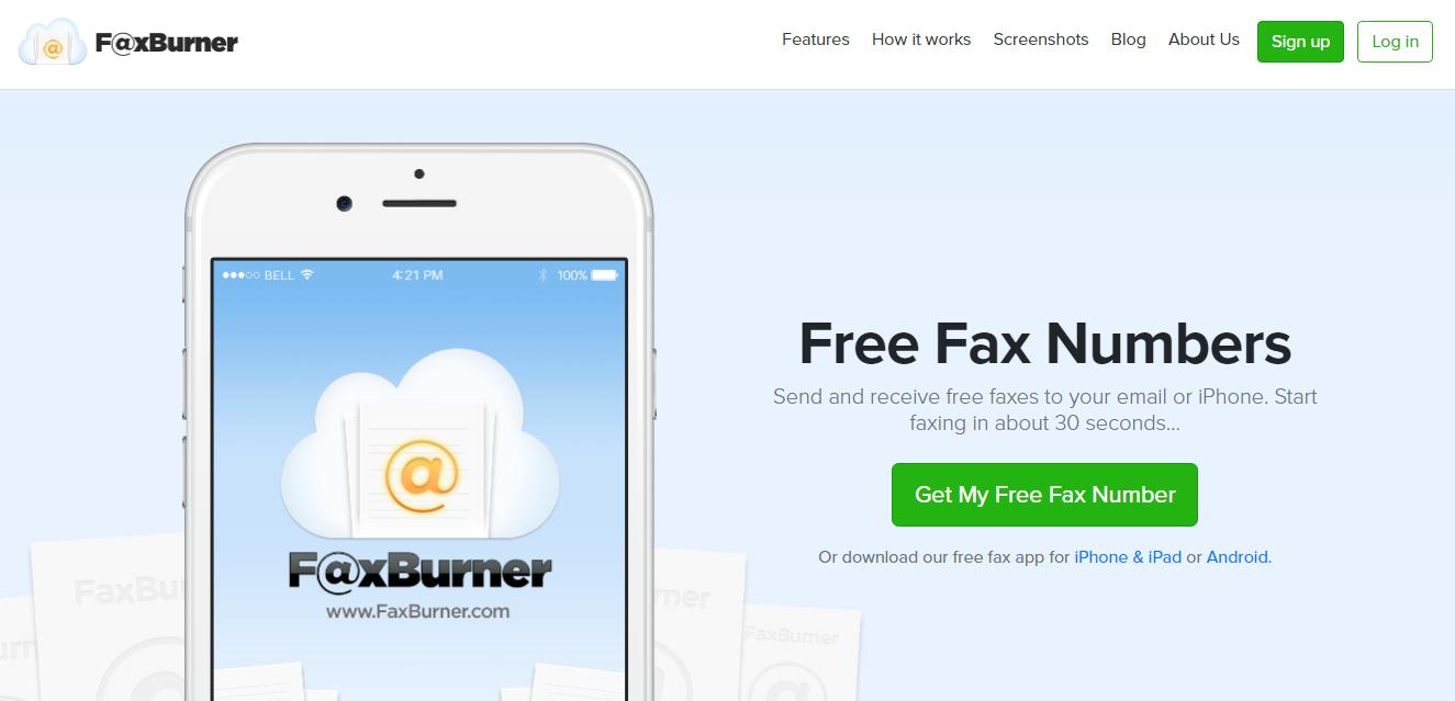 Faxburner