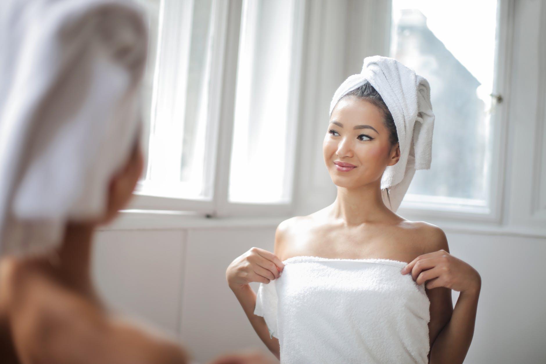 Take A Bath Or Warm Shower