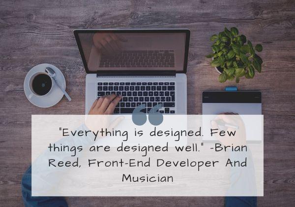 Brian Reed, Front-End Developer
