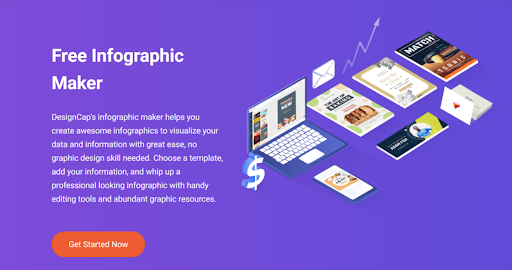 DesignCap - Create Charts And Infographics