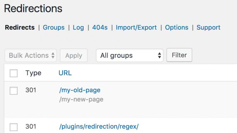 Redirect WordPress Plugins