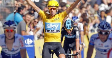 First British Cyclist To Win The Tour De France