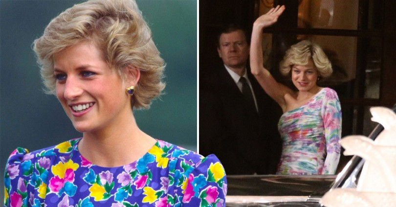 Emma Corrin And Princess Diana