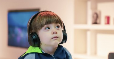 Kids Using Headphones