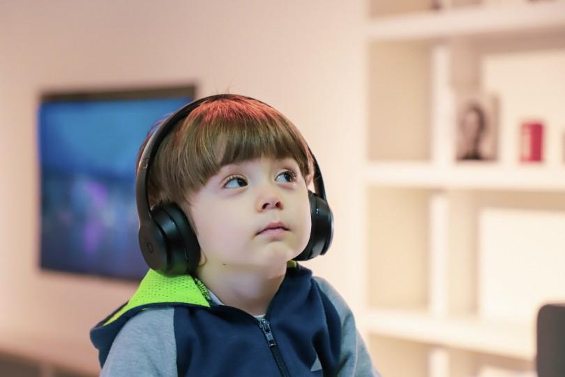 Kids Using Headphones