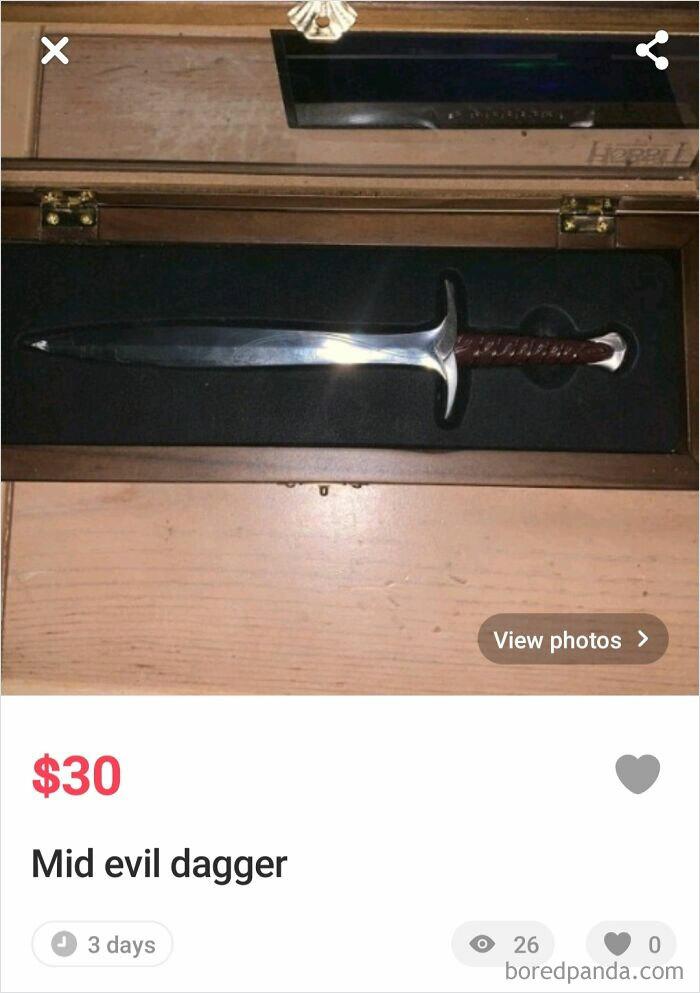 Mid Evil Dagger