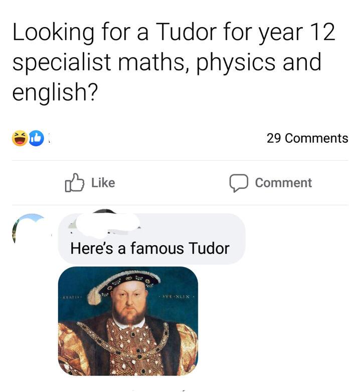 Tudor For Maths