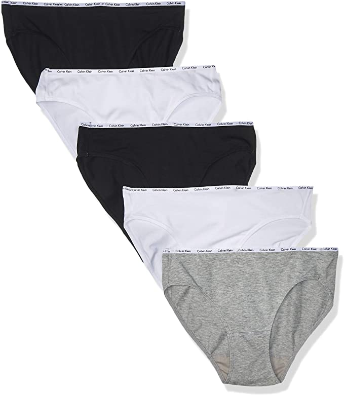 Calvin Klein Women's Cotton Stretch Bikini Undies 5-Pack