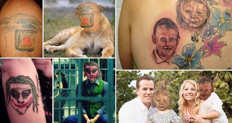 Face Swapping Tattoos