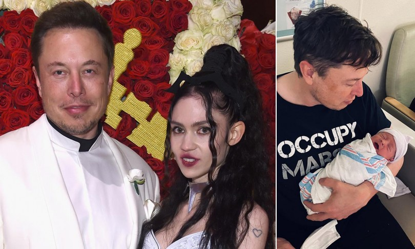 Grimes And Elon Musk's Baby