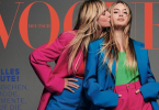 Heidi Klum and her daughter pose for Vogue