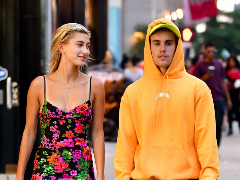 Justin Bieber talks about his wife