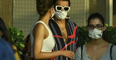 Ranveer Singh Spotted Seeing Deepika Off