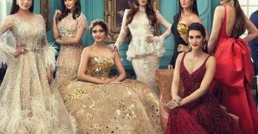 Victorian Era Fashion by bollywood celebrities