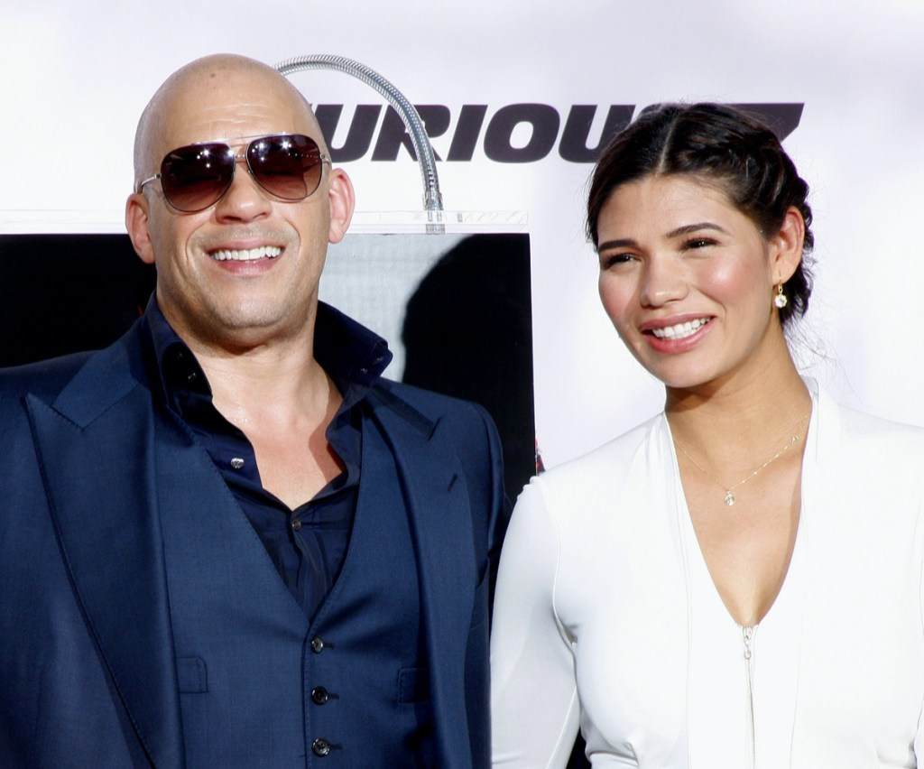 Vin Diesel and Paloma Jiminez