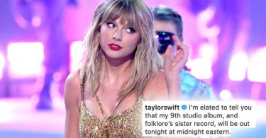 Taylor Swift Her Ninth Album 'Evermore'