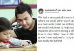 Twitter User Recalls helping A Dyslexic Kid