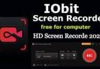 IObit Screen Recorder